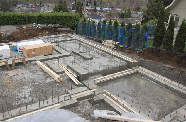 foundations footings
